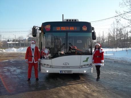 Autobuzul lui Mos Craciun